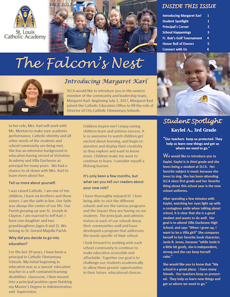 The Falcon's Nest - Fall 2017 Edition